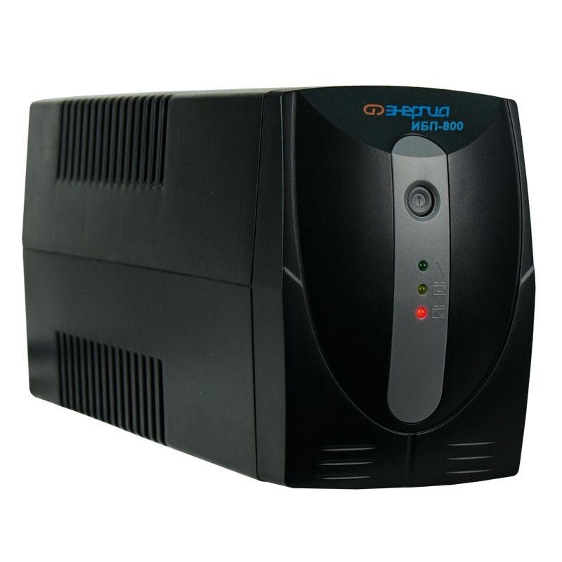 ИБП Энергия ИБП 800, Е0201-0023, черный аккумулятор для ибп энергия акб 12 200 тип agm