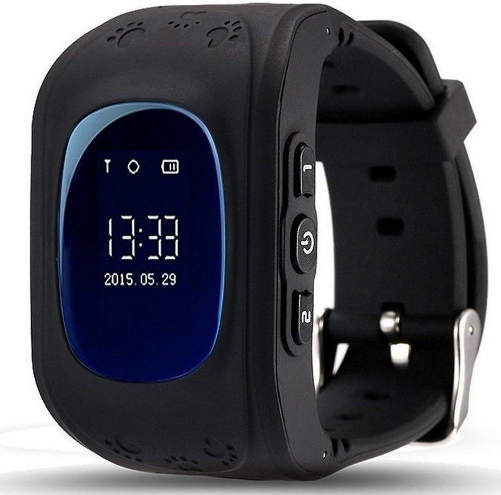 лучшая цена Умные часы для детей SBW Q50, Q50_Черные