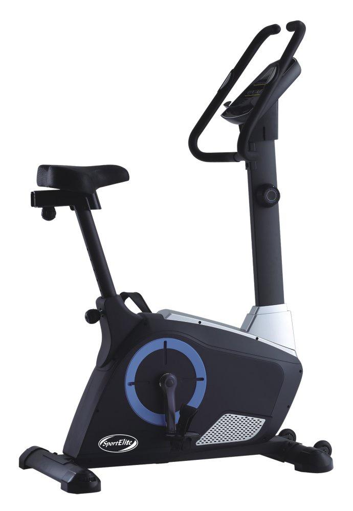 Велотренажер Sport Elite SE-C500D, SE-C500D, черный, синий