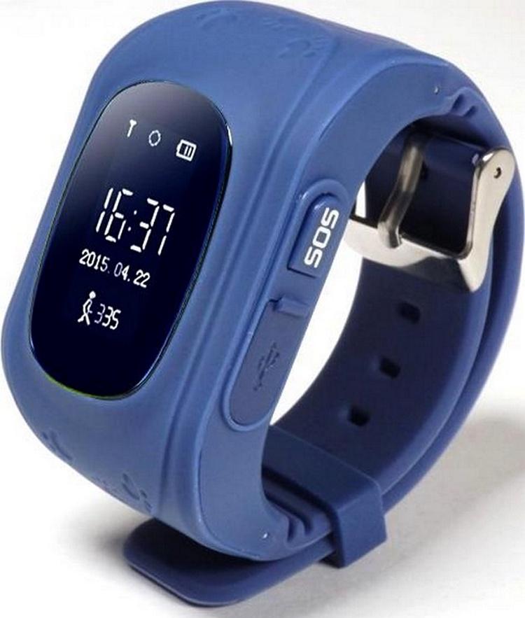 Умные часы для детей SBW Q50, Q50_Темно-Синие цена