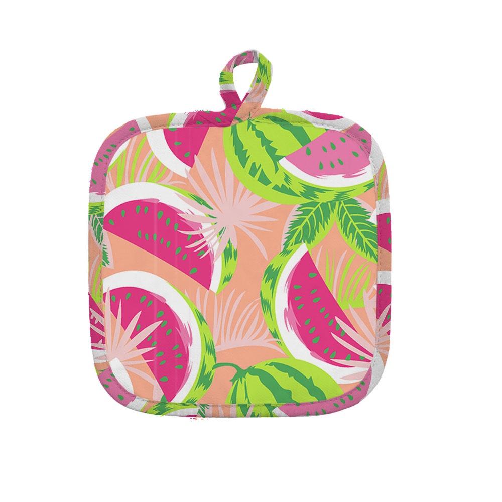 Прихватка Bonita Сахарный арбуз, 15010118496, розовый полотенце 35 62 bonita сахарный арбуз