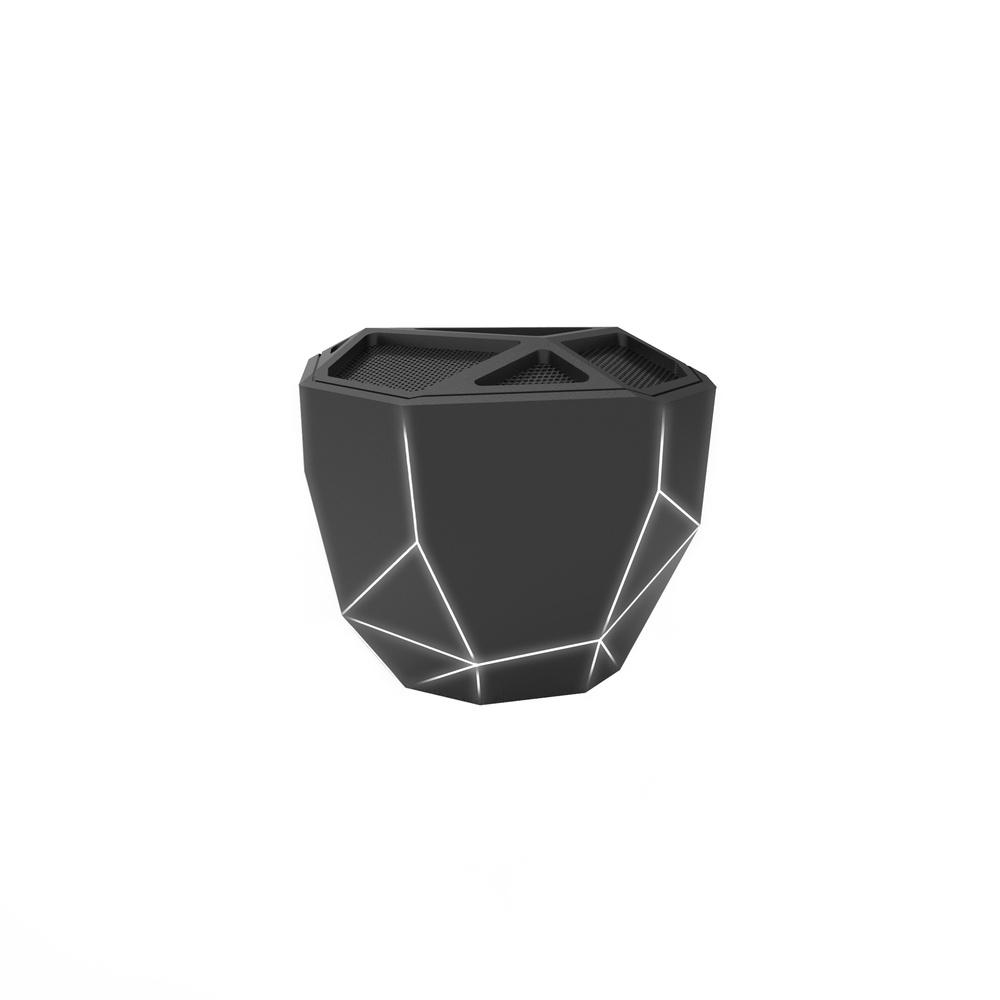Беспроводная колонка Xoopar Geo Speaker, XP81016.21WL, черный xoopar xboy31009 doll design bluetooth speaker