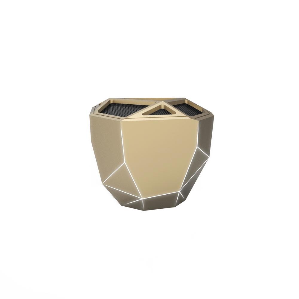 Беспроводная колонка xoopar Geo Speaker, XP81016.13WL, золотой xoopar xboy31009 doll design bluetooth speaker