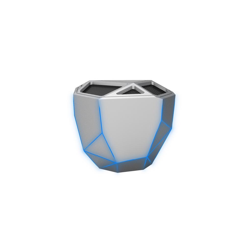 Беспроводная колонка XOOPAR Geo Speaker, XP81016.12BL, серебристый xoopar xboy31009 doll design bluetooth speaker