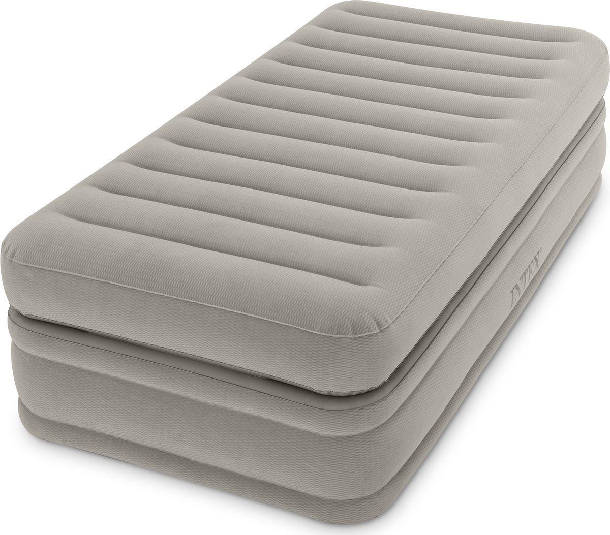 Матрас надувной Intex, с64444, со встроенным насосом, 99 х 191 х 51 см