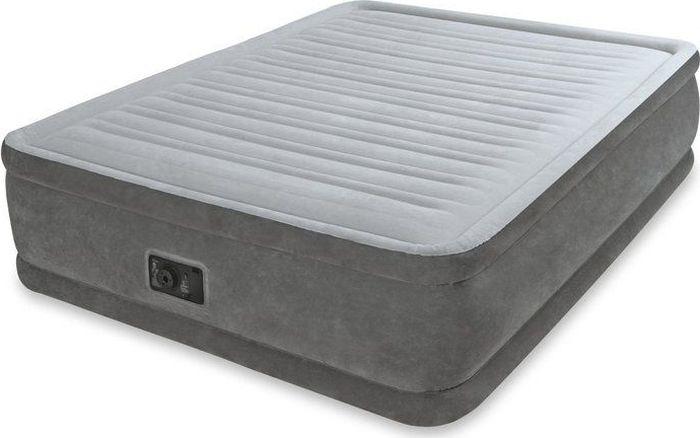 купить Кровать надувная Intex, с64418, 152 х 203 х 46 см по цене 9968 рублей