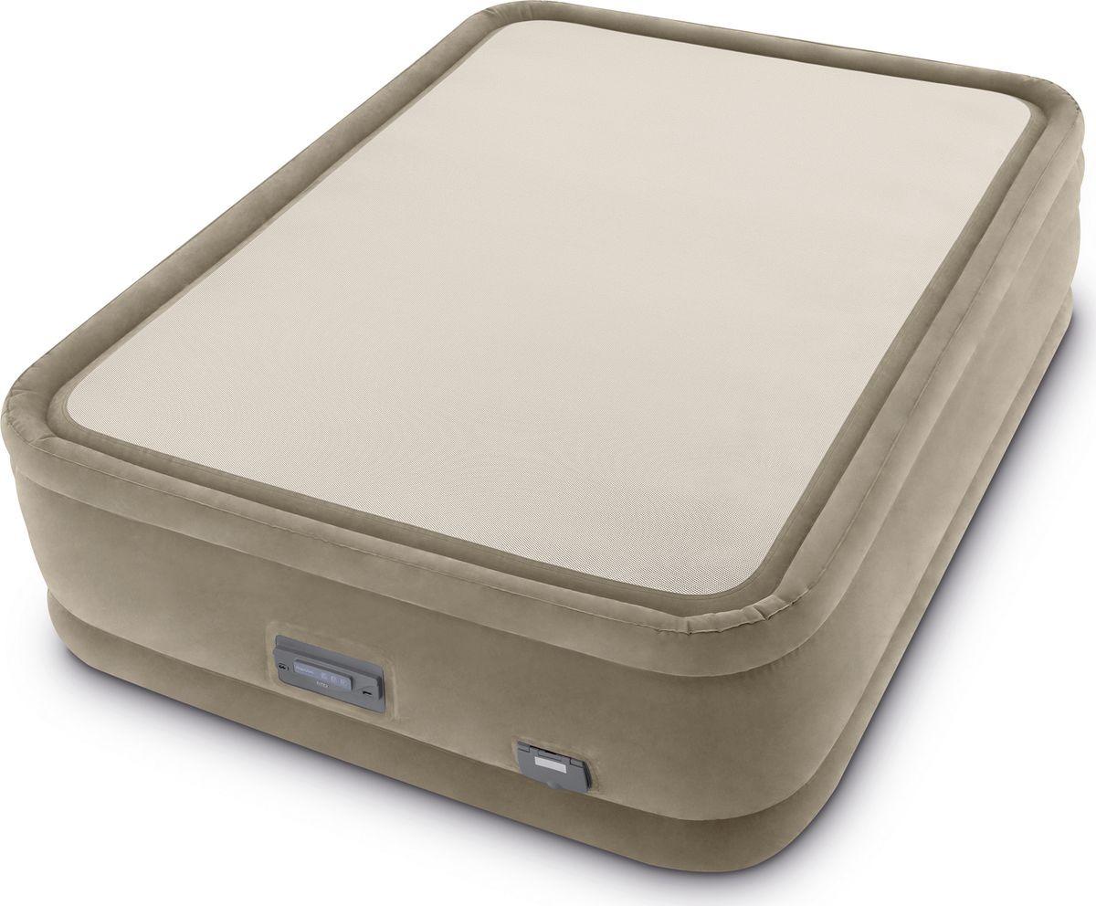 Кровать надувная Intex, с64936, 152 х 203 х 51 см