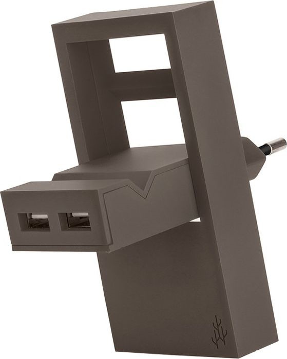 Фото - Зарядное устройство USBepower Rock, коричневый зарядное устройство usbepower rock коралловый