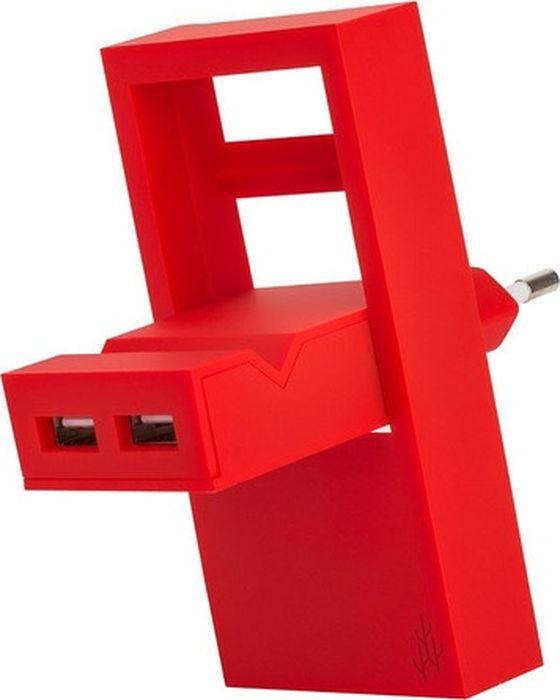 Фото - Зарядное устройство USBepower Rock, коралловый зарядное устройство usbepower rock коралловый