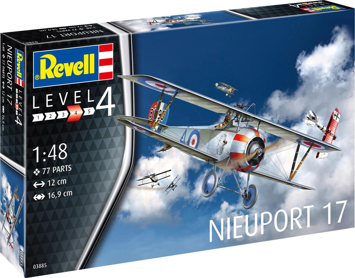 Сборная модель Revell Французский истребитель Nieuport 17, 03885R