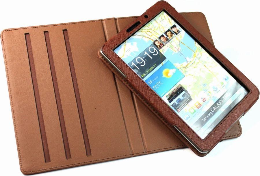"Чехол для планшета IT Baggage для Samsung Galaxy Tab 7.7"" P6800, ITSSGT77-2, коричневый"