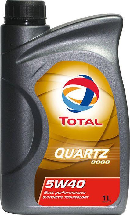 Моторное масло Total Quartz 9000 5W40, синтетическое, 1 л