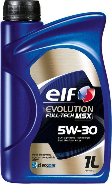 Моторное масло Elf Evolution Fulltech Msx 5W30, синтетическое, 1 л масло elf evolution sxr 5w30 5л синт