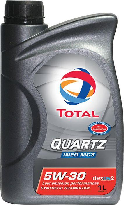 Моторное масло Total Quartz Ineo Mc3 5W30, синтетическое, 1 л total quartz ineo ecs 5w 30 4 л