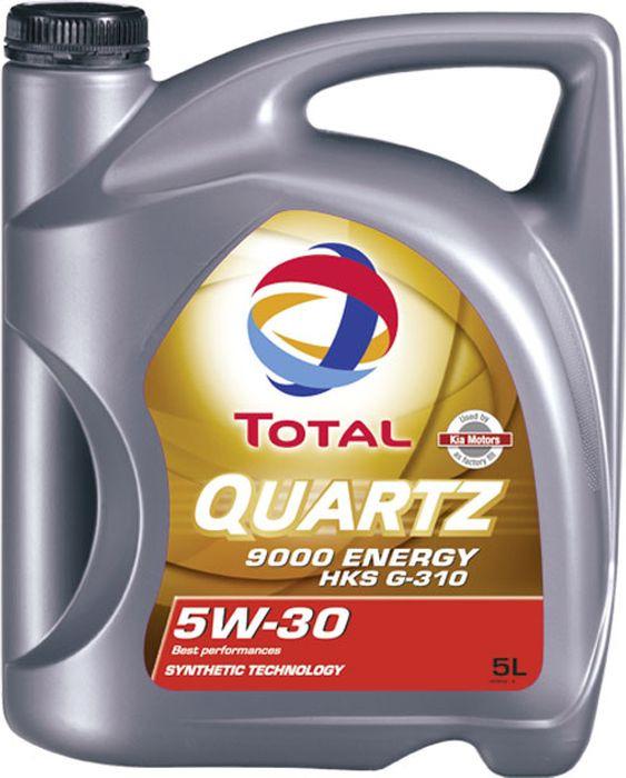 Моторное масло Total Quartz 9000 Energy Hks, синтетическое, 5 л
