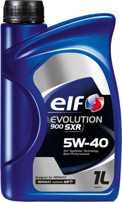 Моторное масло Elf Evolution 900 Sxr 5W40, синтетическое, 1 л масло elf evolution sxr 5w30 5л синт