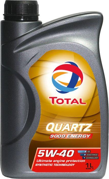 Моторное масло Total Quartz 9000 Energy 5W40, синтетическое, 1 л