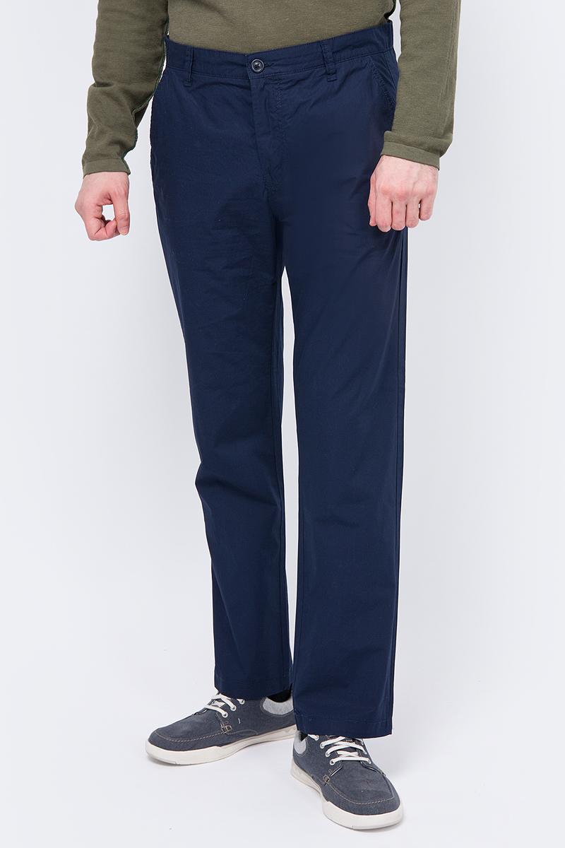 Брюки мужские United Colors of Benetton, цвет: темно-синий. 4AC755EF8_016. Размер 504AC755EF8_016