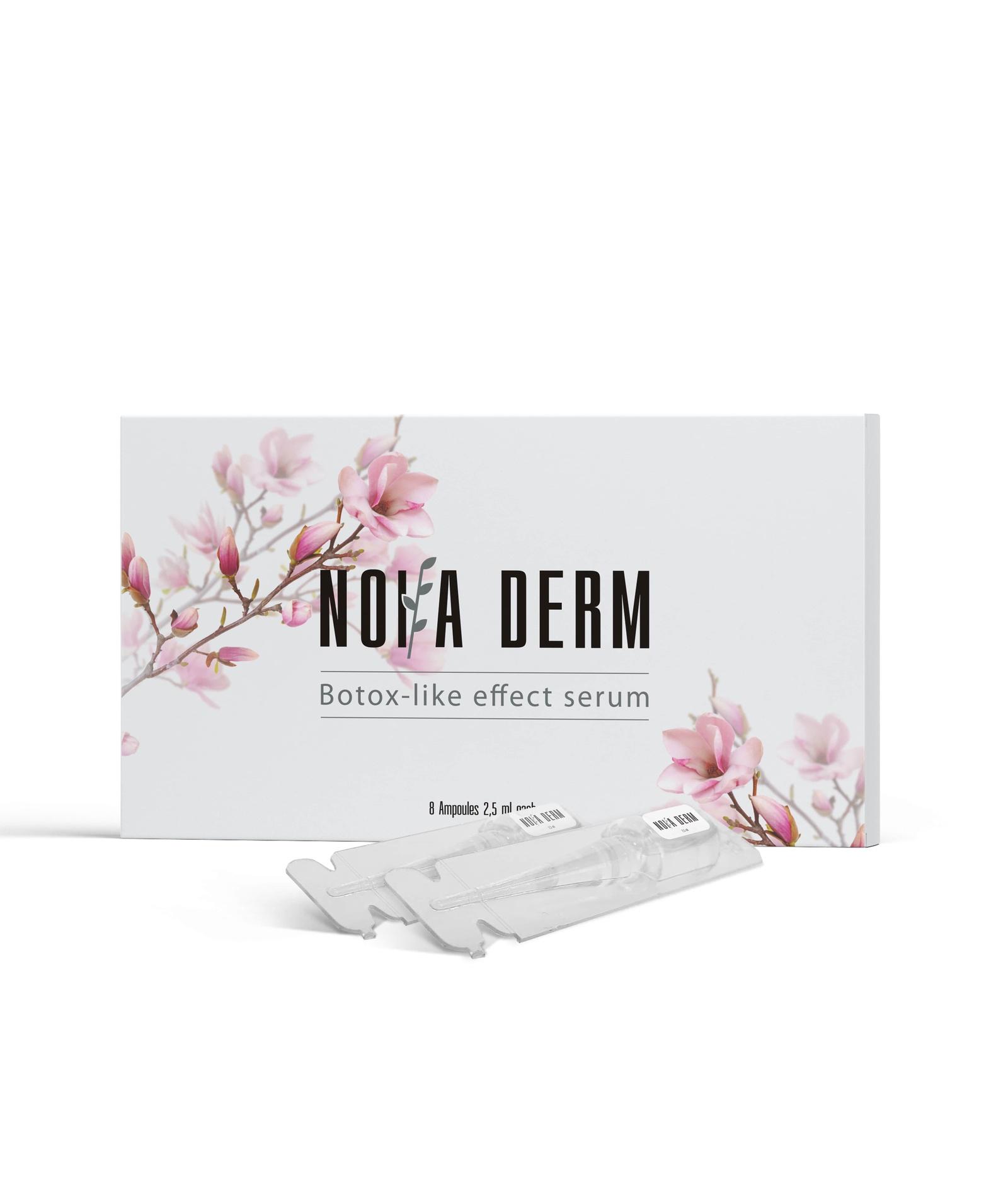 Noia Derm (Нойа дерм) сыворотка с ботокс эффектом против возрастных изменений крем либре дерм цена