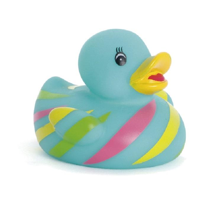 Игрушка для ванной ПОМА Весёлая уточка голубой