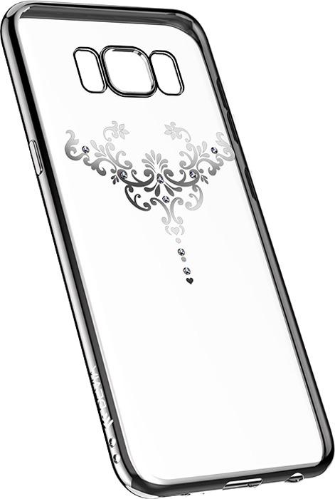 Чехол для сотового телефона Devia Crystal Iris Soft case для Samsung Galaxy S8 Plus, серебристый