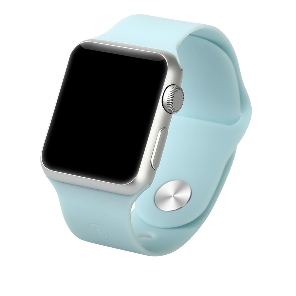 Фото - Ремешок для смарт-часов Aceshley Luxe Blue 42, 12392, голубой ремешок для смарт часов semolina ремешок силиконовый для apple watch 42 мм gx28 оранжевый оранжевый
