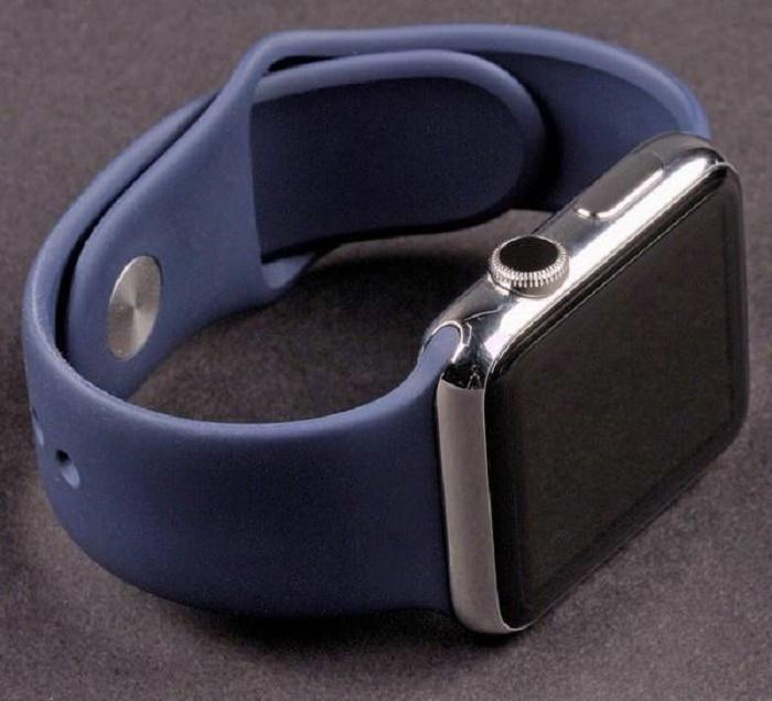 Ремешок для смарт-часов Aceshley Luxe T.Blue 42, 12393, темно-синий ремешок apple sport loop для watch 38 мм темно синий