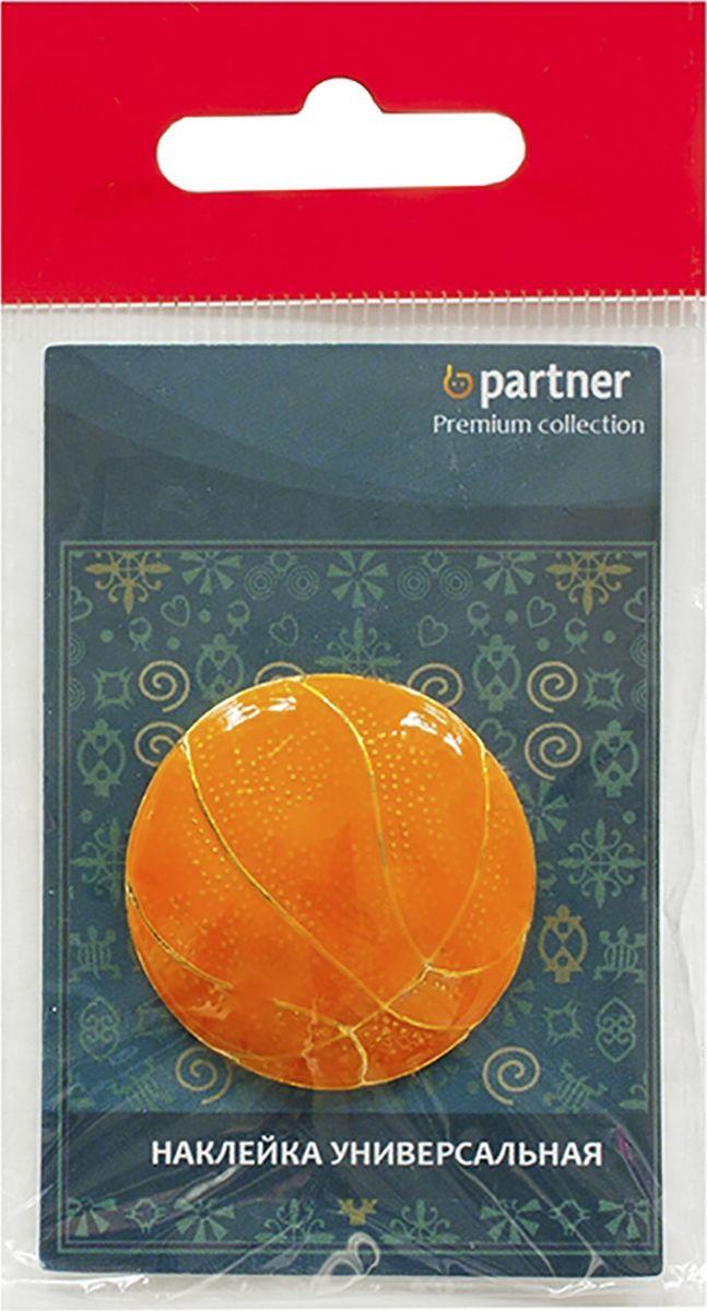 Наклейка на телефон Partner Баскетбольный мяч, 3,5 х 2,5 х 0,4 см наклейка автомобильная partner шипы гост