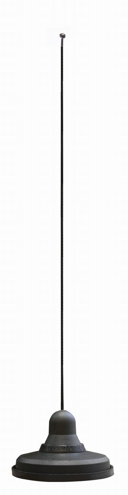 Автомобильная антенна триада магнитная МА 86-01 Супермагнит! Супердальность! Пруток прямой 40 см. Диаметр 86 мм. Длина кабеля 3 м., черный автомобильная антенна триада ремкомплект пр 02 euro decor пруток универсальный