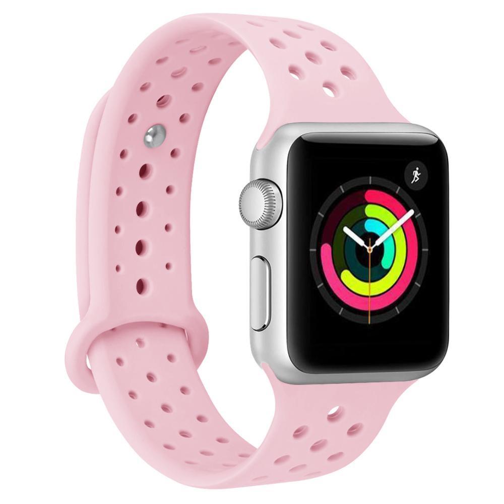 Ремешок для смарт-часов Aceshley Luxe Pink Hall 38, 12395, розовый цены онлайн