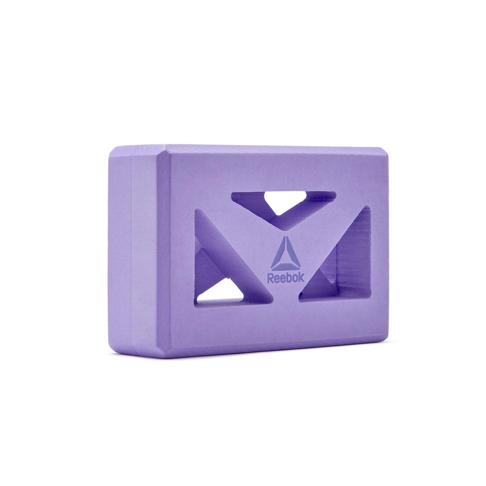 Блок для йоги Reebok RAYG-10035PL, фиолетовый недорго, оригинальная цена