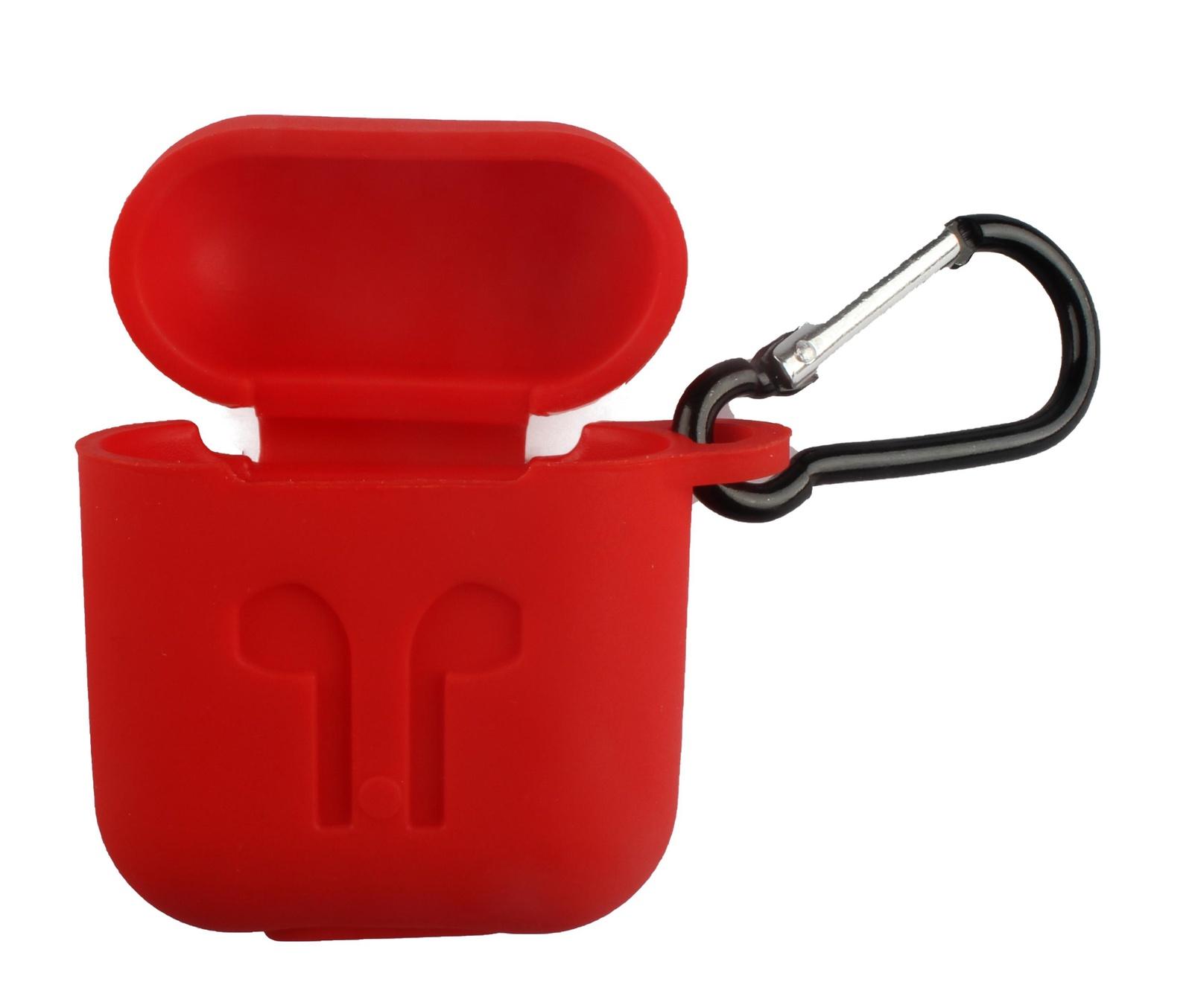 Чехол для наушников TipTop SiliconeCase2036, 4605170002036, красный аксессуар для наушников shure sha900 серебристый