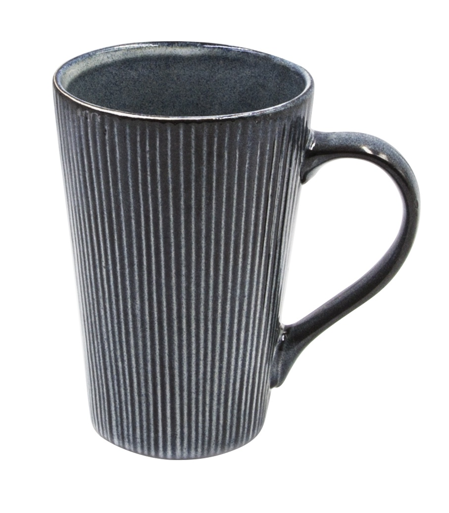 Кружка Miolla YJ19403, YJ19403, КерамикаYJ19403Удобная кружка с рельефной поверхностью из грубой керамики. Имеет оригинальный дизайн, послужит украшением стола. Достаточно большой объём – 400 мл позволит наслаждаться любимым напитком длительное время
