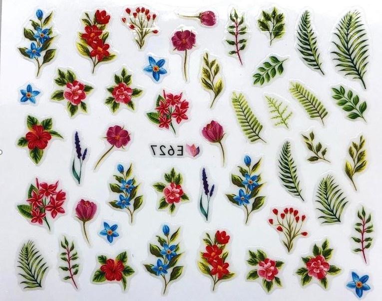 Наклейки для ногтей Липляндия Цветы вид 4 наклейки для ногтей липляндия розы вид 2