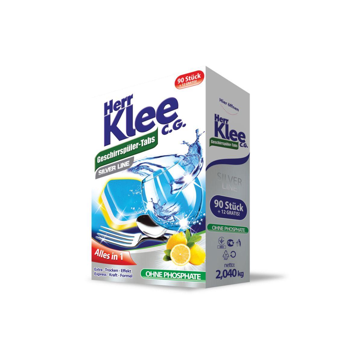 Средство для мытья посуды Clovin для посудомоечных машин, 4260418930450, белый, 2 Clovin