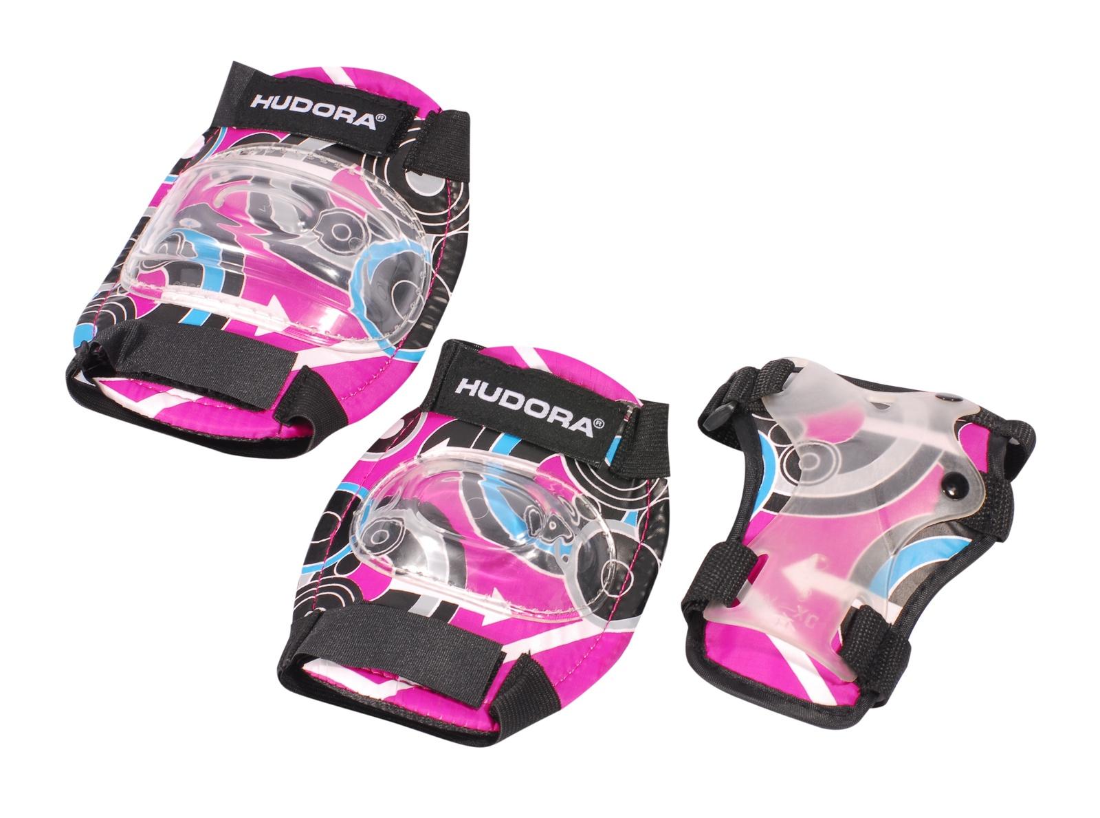 Комплект защиты HUDORA Pink Style, розовый цена
