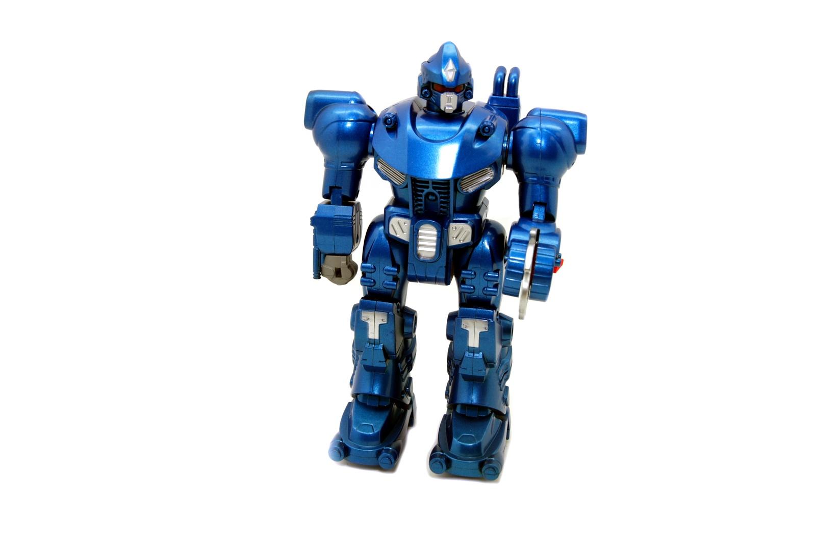 Игрушечный робот Balbi BB-001 BLUE синий