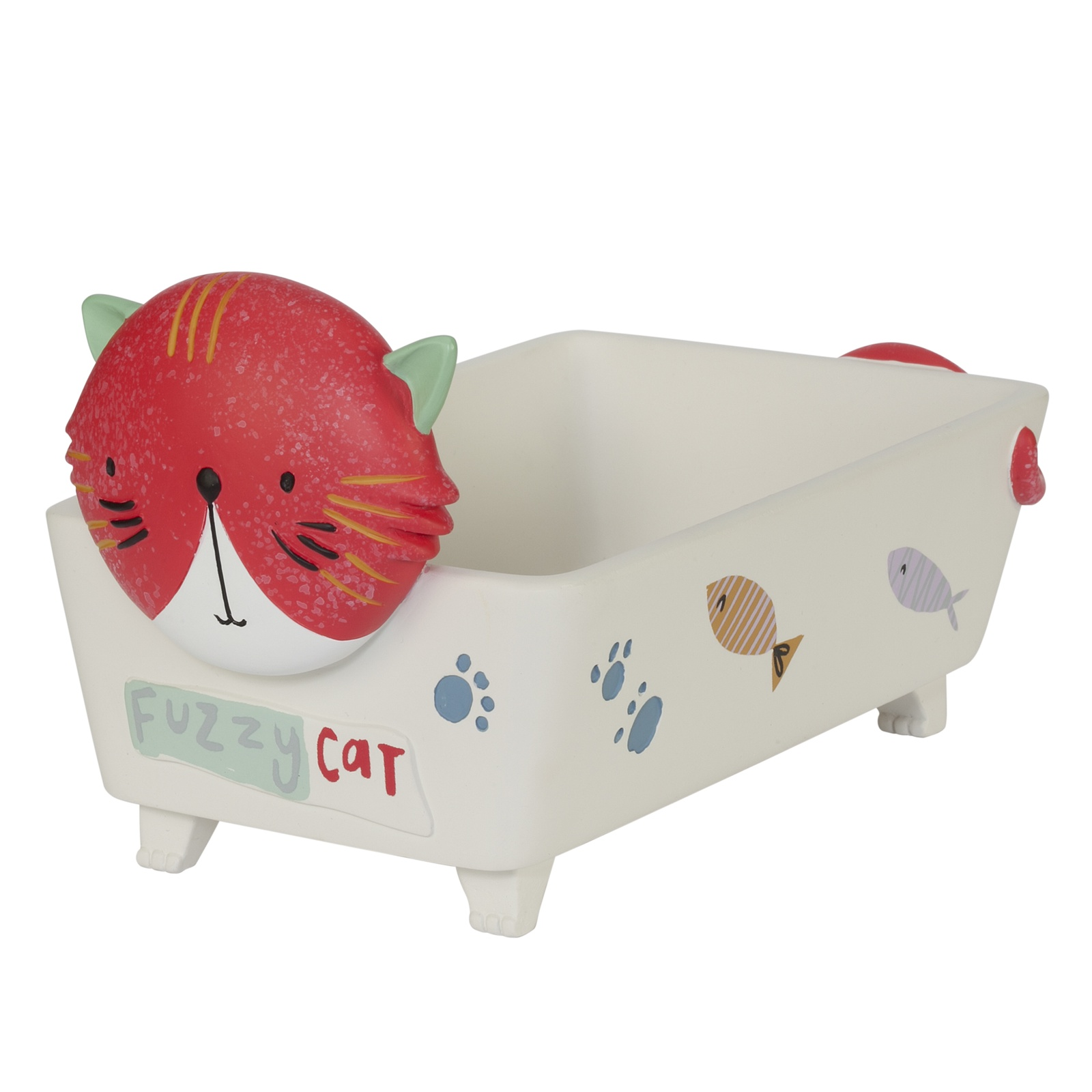 Мыльница Creative Bath Kitty, KTY56MULT, белый
