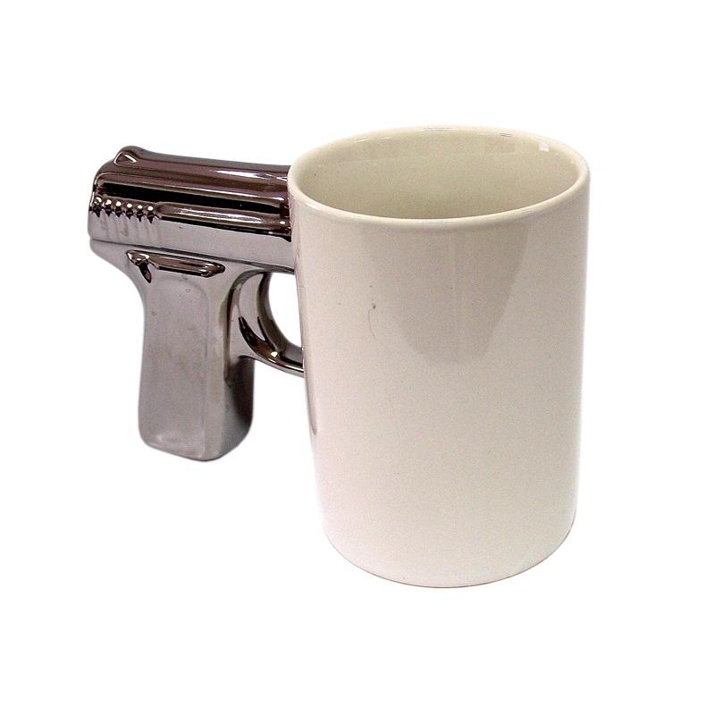 Фото - Кружка Gift republic Пистолет, 8137, кремовый кружка gift