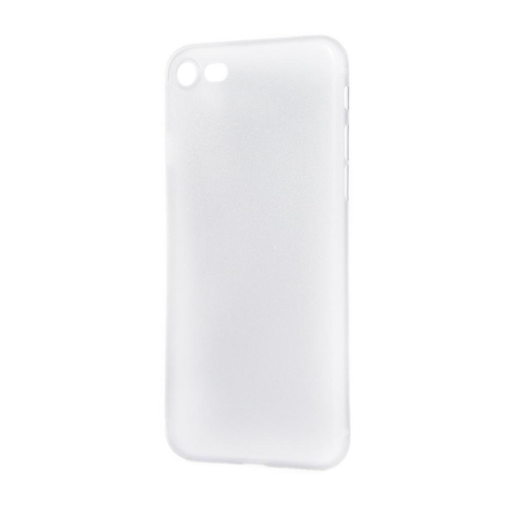 Чехол для сотового телефона IQ Format Iphone 7 ультра тонкая, 4627104428194, белый аксессуар чехол крышка iq format для iphone 7 green