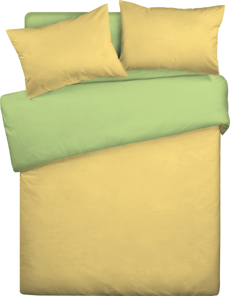 Комплект постельного белья Wenge Uno, 295061, евро, наволочки 70х70, желтый, салатовый покрывало wenge watson sydney 180x210cm 504224