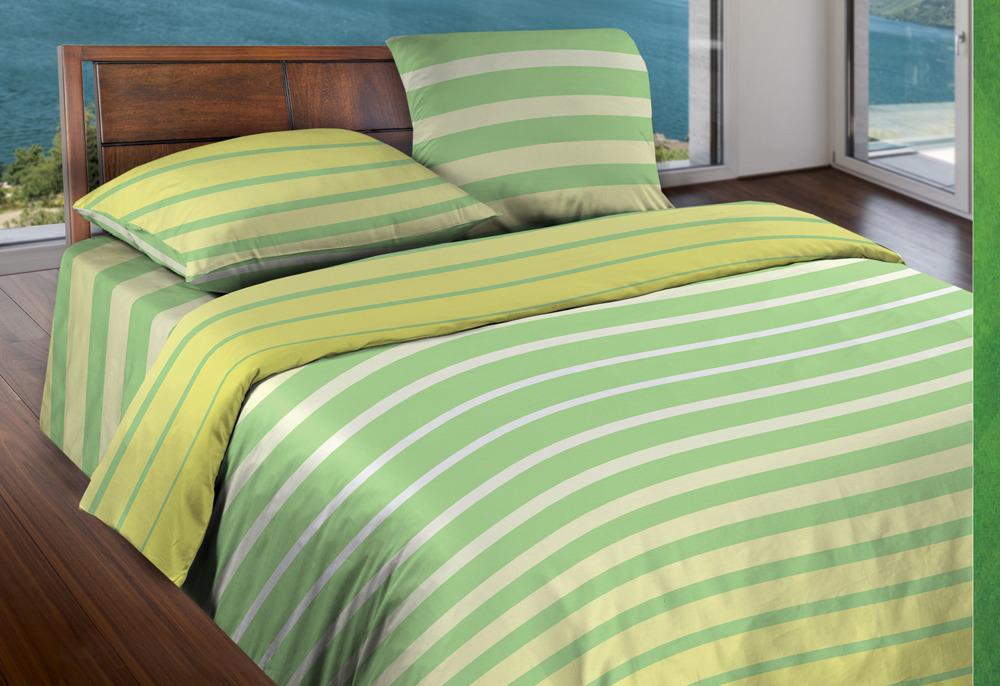 Комплект постельного белья Wenge Motion. Stripe Lime, 366591, евро, наволочки 70х70 комплект белья wenge eccentric 513389 евро наволочки 70х70
