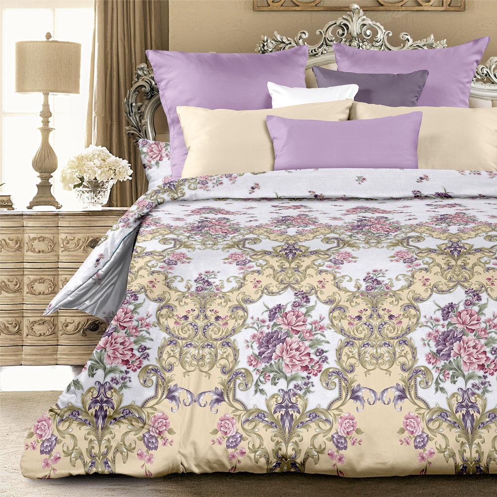Комплект постельного белья Унисон Маргарет, 522124, 1,5-спальный, наволочки 70x70 комплект постельного белья унисон криолло