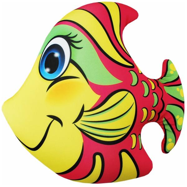Игрушка антистресс Мнушки Игрушка «Рыбка» красный