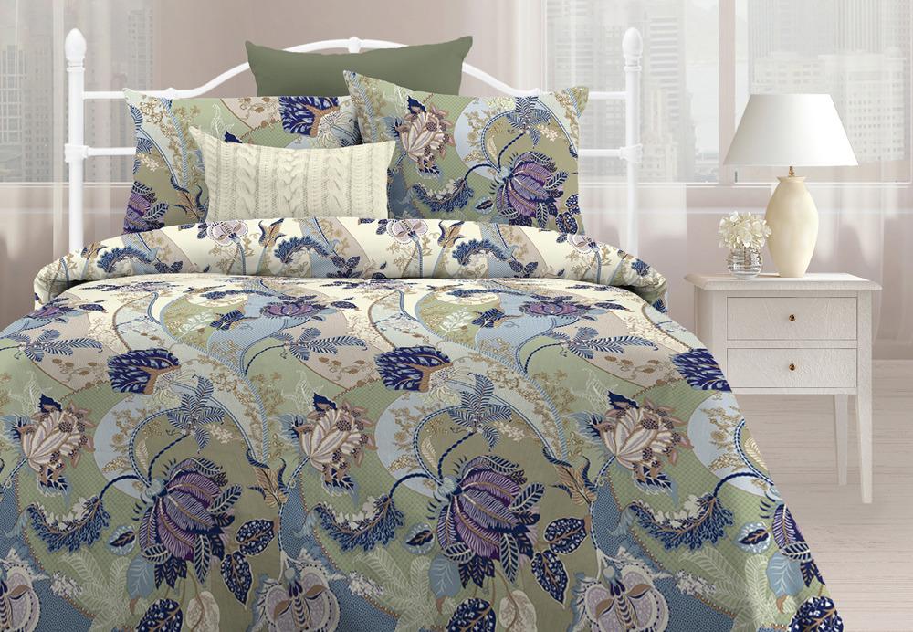Комплект постельного белья Любимый дом Благородное таинство, 545073, 2-спальный, наволочки 70x70 любимый дом полотенце махровое клео 35 70 любимый дом фиолетовый