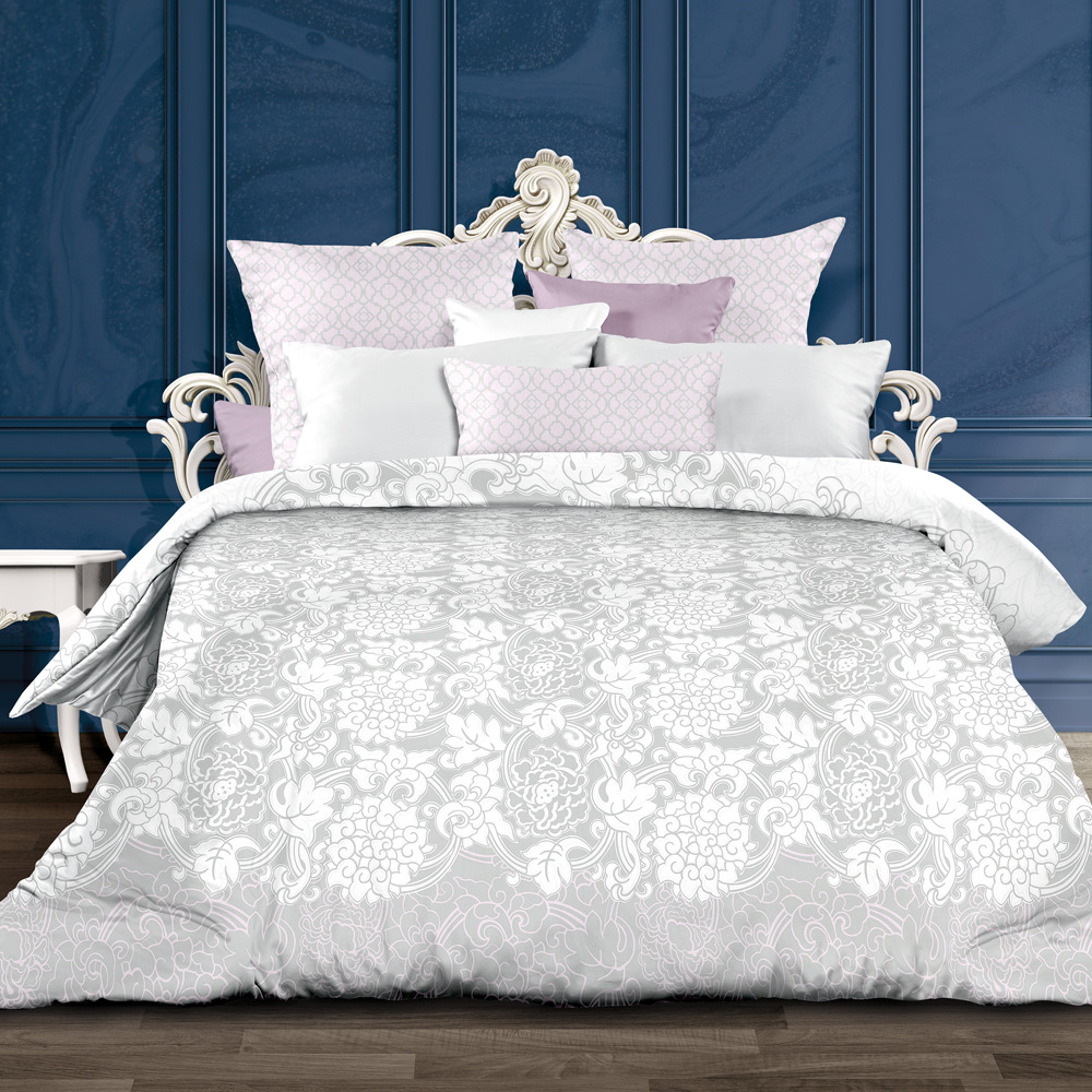Комплект постельного белья Унисон Ботичелли, 552224, 1,5-спальный, наволочки 70x70 комплект постельного белья унисон бархат