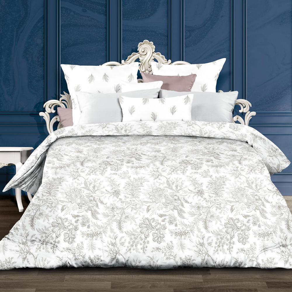 Комплект постельного белья Унисон Ирландское кружево, 552263, 2-спальный, наволочки 70x70 комплект постельного белья романтика ирландское кружево
