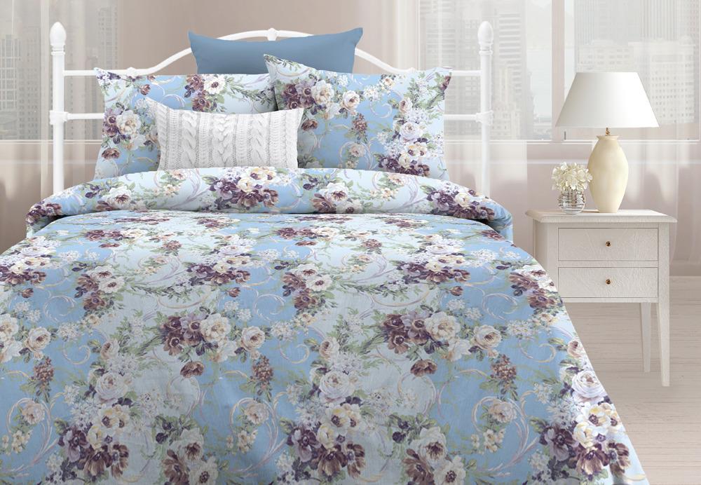 Комплект постельного белья Любимый дом Мелани, 552529, семейный, наволочки 70х70 любимый дом полотенце махровое клео 35 70 любимый дом фиолетовый