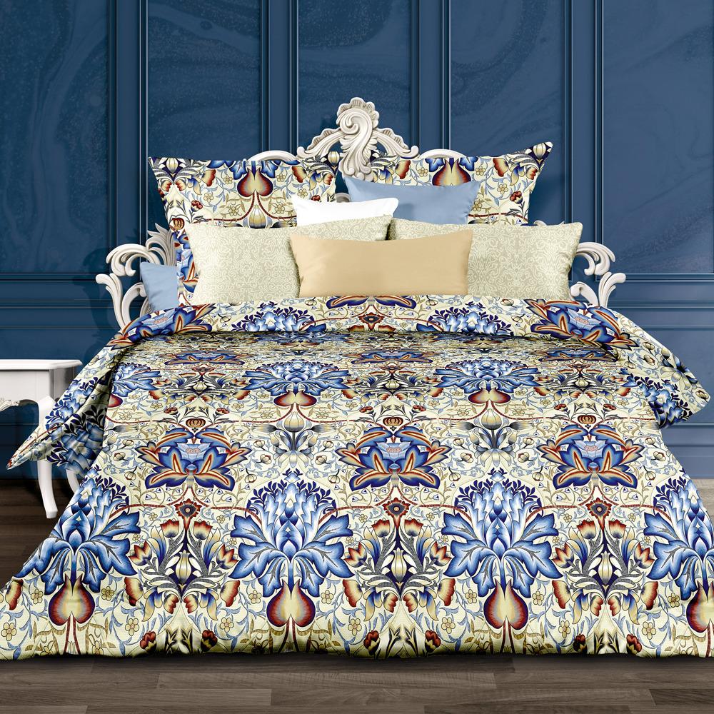 Комплект постельного белья Унисон Сальвадоре, 556225, евро, наволочки 70х70 комплект постельного белья унисон криолло