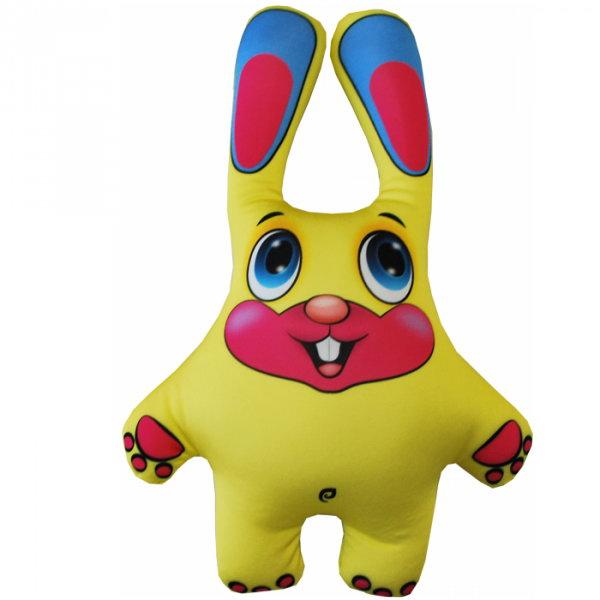 Игрушка антистресс Мнушки Игрушка «Заяц», Аи02жив30 желтый